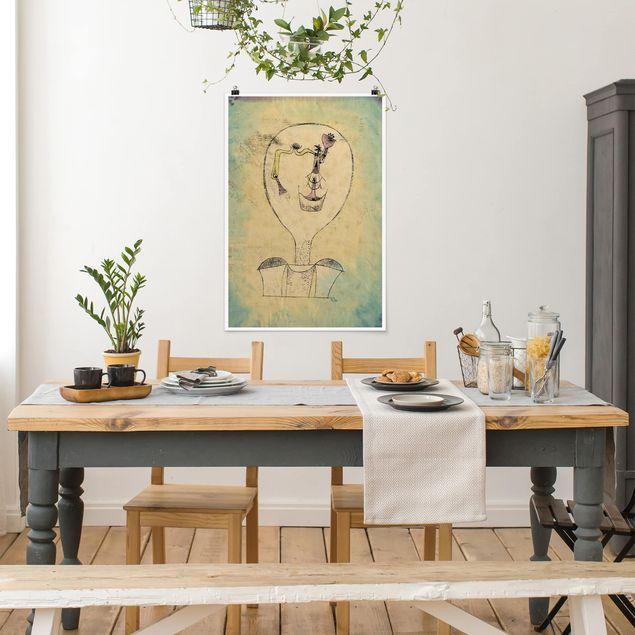 Poster - Paul Klee - Die Knospe - Hochformat 3:2