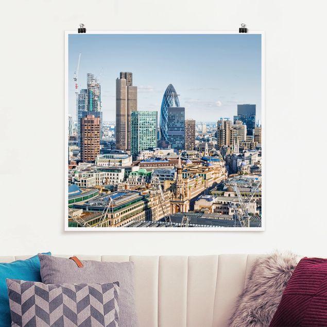Poster - City of London - Quadrat 1:1