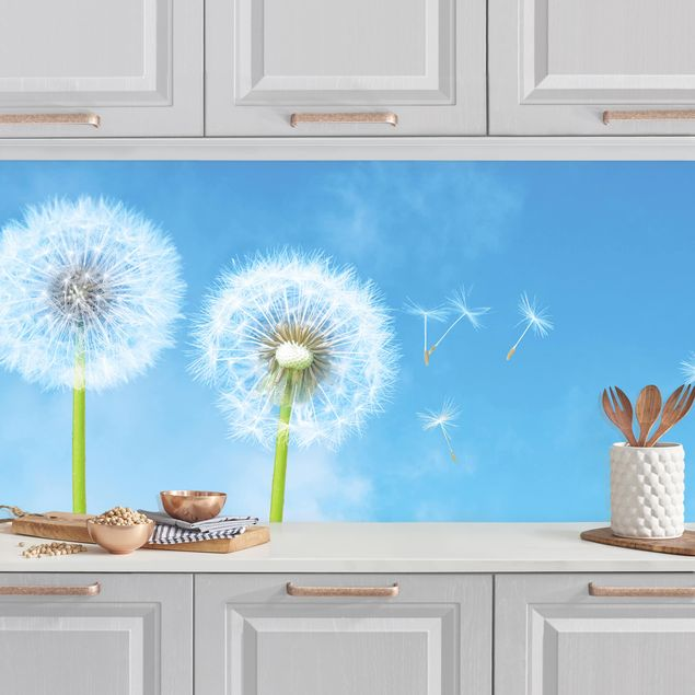 Küchenrückwand - Flying Seeds