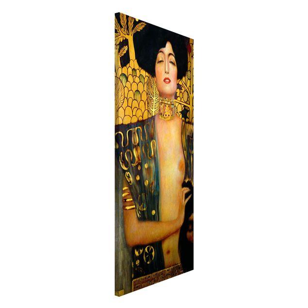 Magnettafel - Gustav Klimt - Judith I - Memoboard Panorama Hochformat 2:1