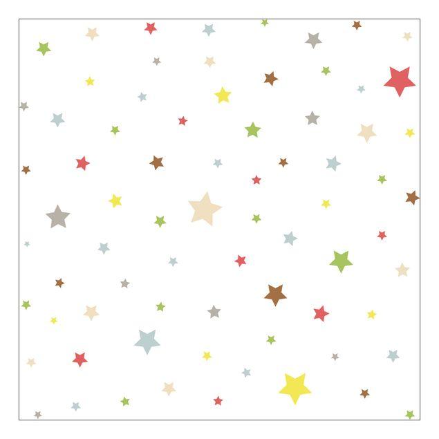 Beistelltisch - Bunte Sterne