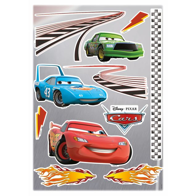 Disney Cars Wandtattoo Cars Set Komar Deco Sticker