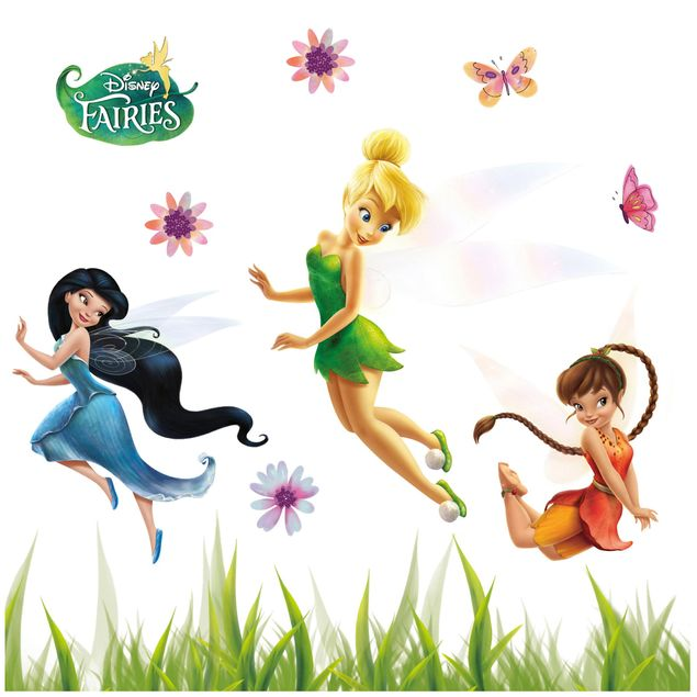 Disney Fairies Fenstersticker - Feen Set - Komar Deco-Sticker