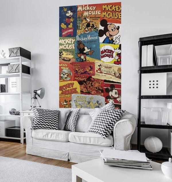 Disney Kindertapete - Mickey - Billboard - Komar Fototapete