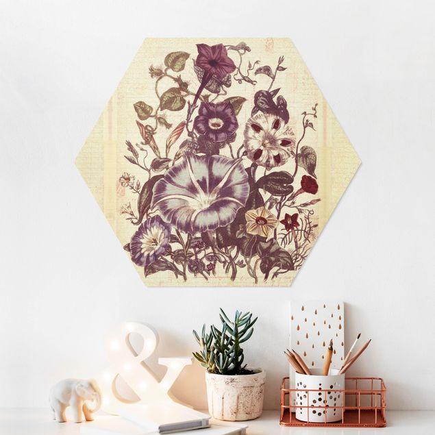 Hexagon Bild Forex - Vintage Memory Blumenstrauss