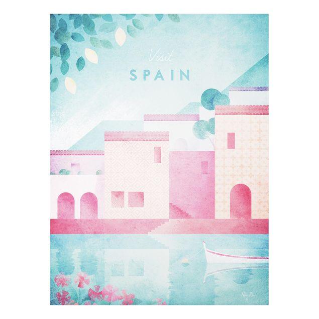 Forex Fine Art Print - Reiseposter - Spanien - Hochformat 4:3