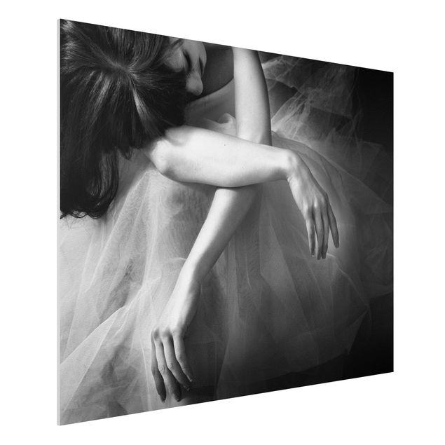 Forex Fine Art Print - Die Hände einer Ballerina - Querformat 3:4