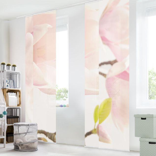 Schiebegardinen Set - Royal Magnolia - Flächenvorhänge