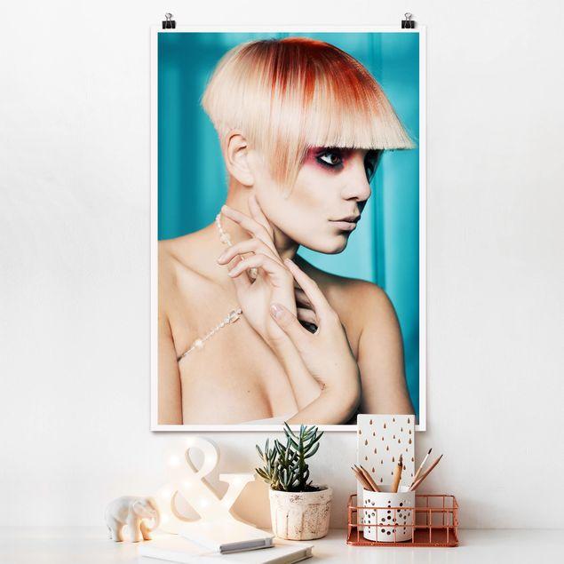 Poster - Modern Lady - Hochformat 3:2