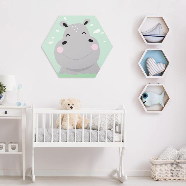 Hexagon Bild Forex - Das glückliche Nilpferd