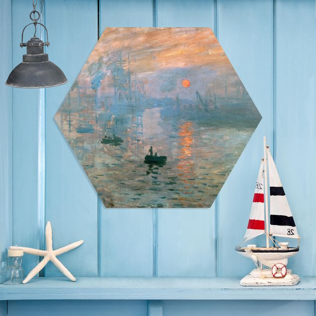 Hexagon Bild Forex - Claude Monet - Impression