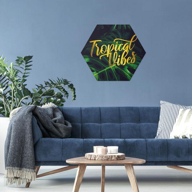 Hexagon Bild Forex - Dschungel - Tropical Vibes