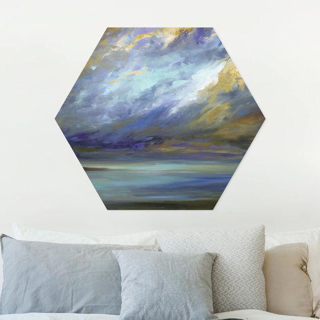 Hexagon Bild Forex - Himmel über Küste