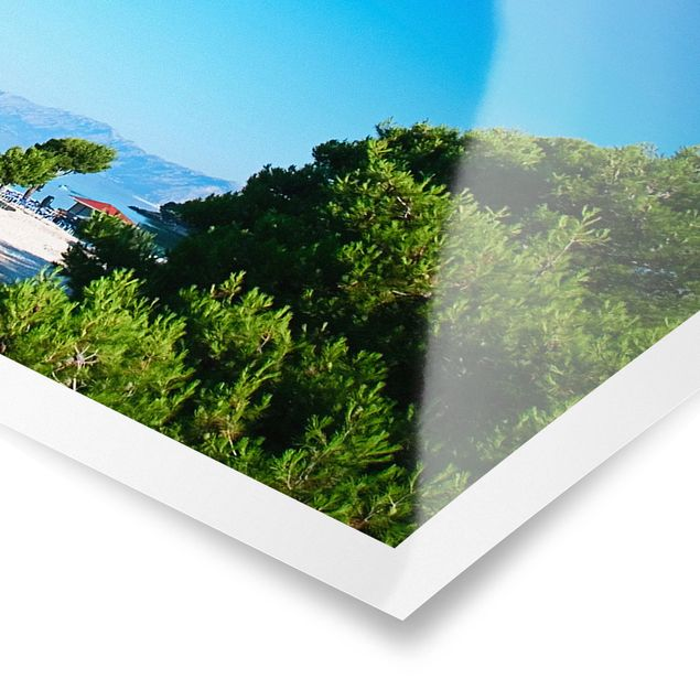 Poster - Hidden Paradise - Panorama Querformat