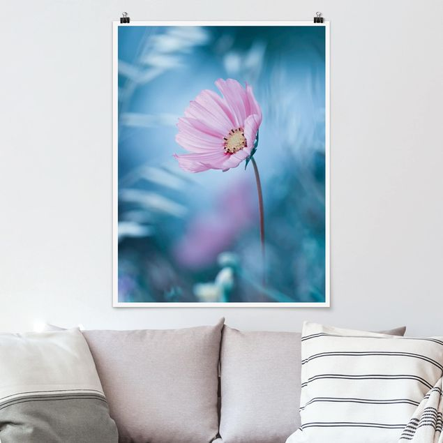 Poster - Blüte in Pastell - Hochformat 3:4