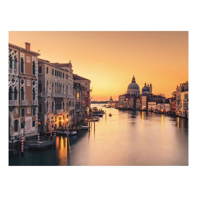 Forex Fine Art Print - Goldenes Venedig - Querformat 3:4