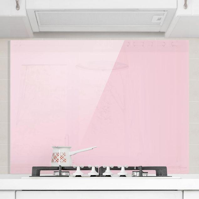 Glas Spritzschutz - Rosé - Querformat - 4:3