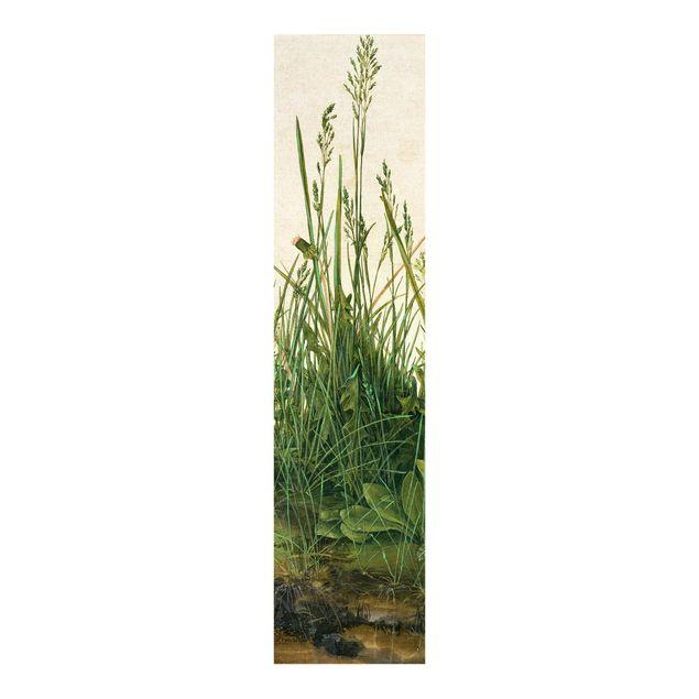 Schiebegardinen Set - Albrecht Dürer - Das große Rasenstück - 2 Flächenvorhänge