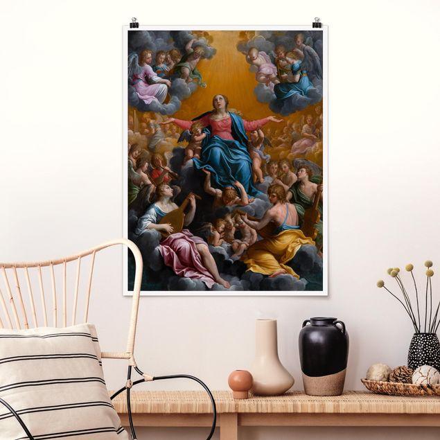 Poster - Guido Reni - Himmelfahrt Mariens - Hochformat 3:4