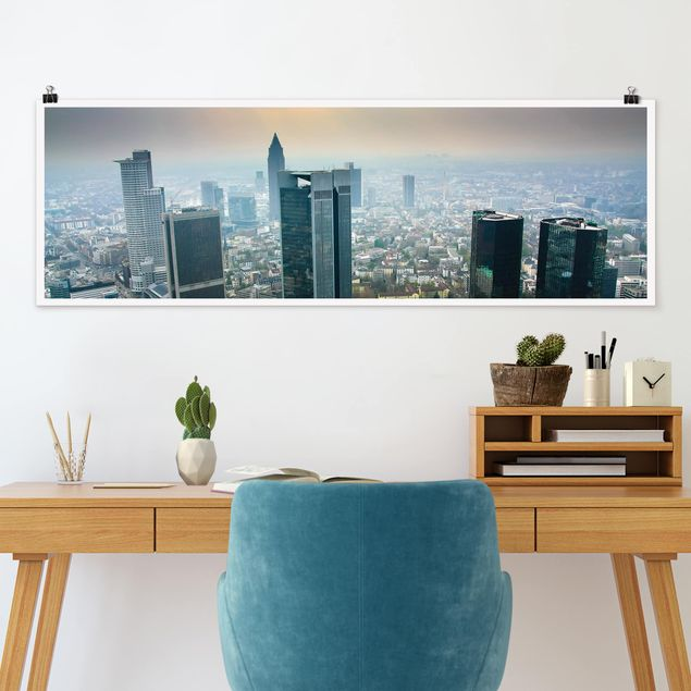 Poster - Modern Architecture - Panorama Querformat