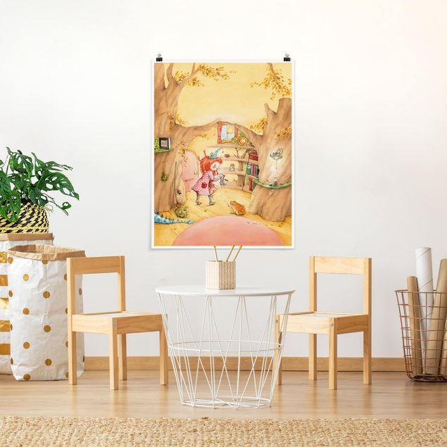 Poster - Frida sucht ihre Sachen - Hochformat 3:4