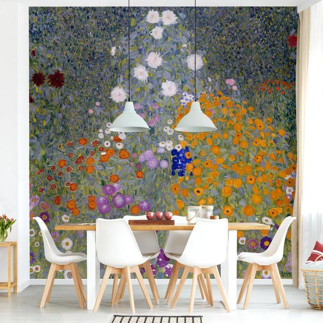 Fototapete - Gustav Klimt - Bauerngarten