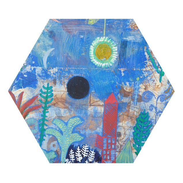 Hexagon Bild Forex - Paul Klee - Versunkene Landschaft