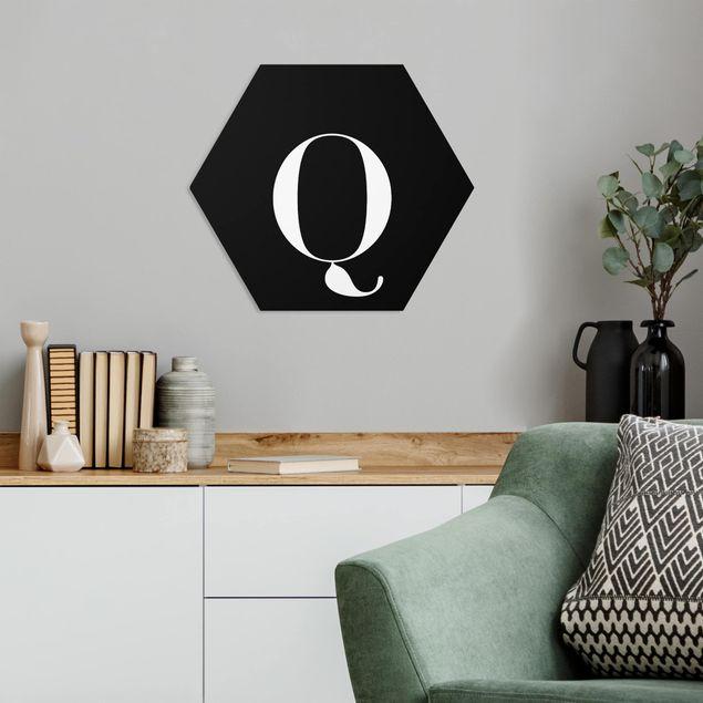 Hexagon Bild Forex - Buchstabe Serif Schwarz Q