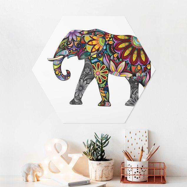Hexagon Bild Forex - No.651 Elefantenmuster