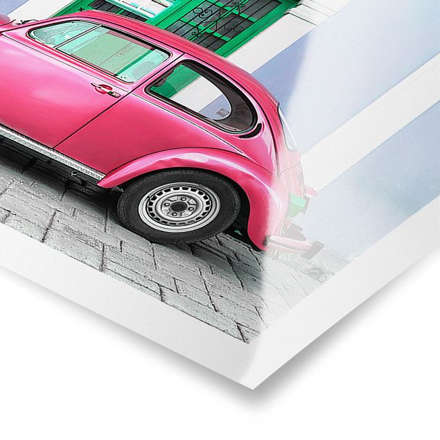 Poster - Beetle Duell - Panorama Querformat