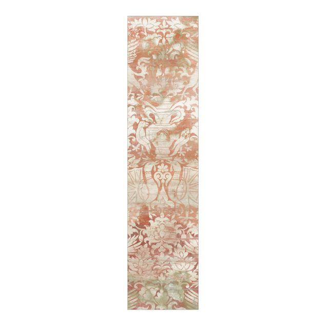 Schiebegardinen Set - Ornamentgewebe II - Flächenvorhang
