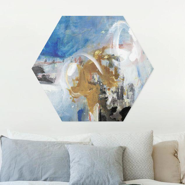 Hexagon Bild Forex - Wechselspiel Abstrakt II