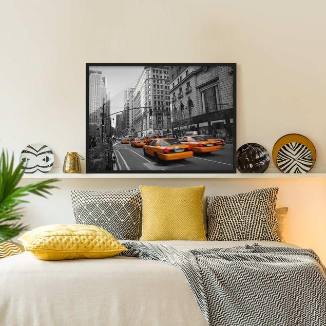 Bild mit Rahmen - New York, New York! - Querformat 3:4
