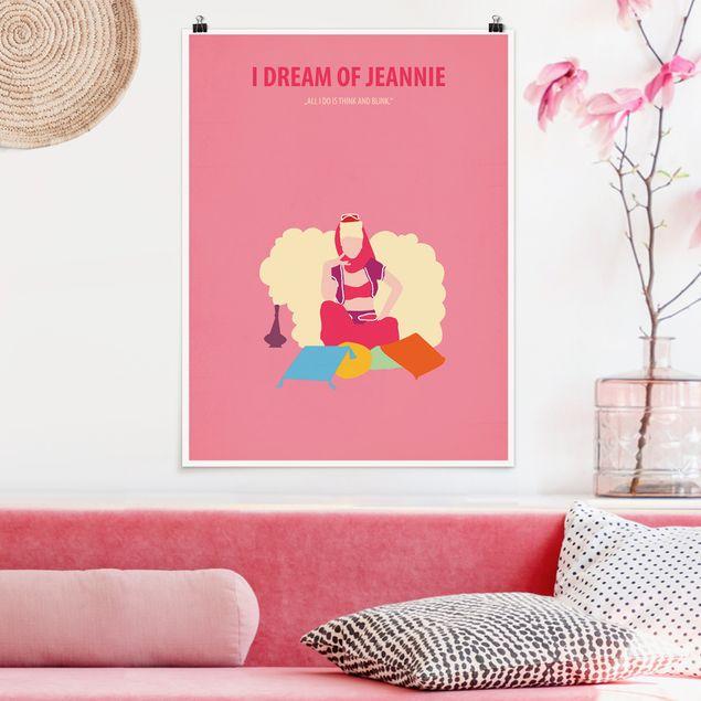 Poster - Filmposter I dream of Jeannie - Hochformat 4:3