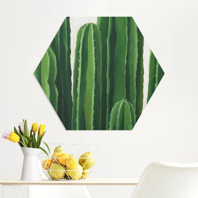 Hexagon Bild Forex - Lieblingspflanzen - Kaktus