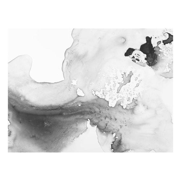 Glas Spritzschutz - Dunst und Wasser II - Querformat - 4:3