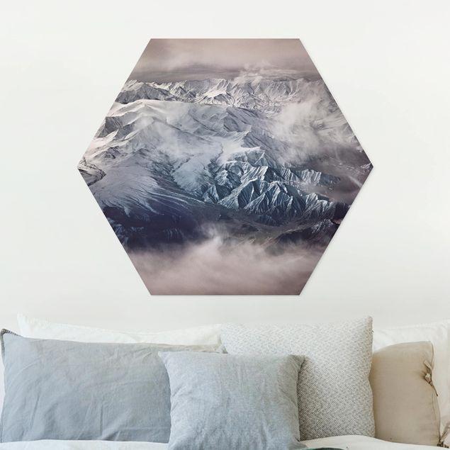 Hexagon Bild Forex - Berge von Tibet