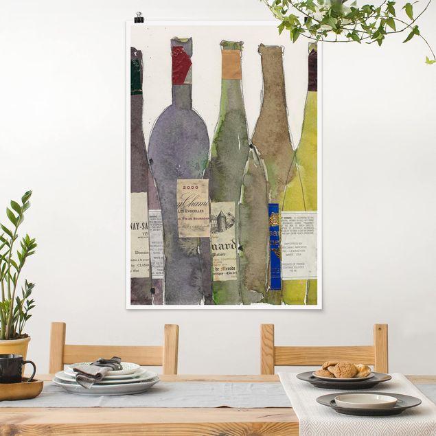 Poster - Wein & Spirituosen IV - Hochformat 3:2
