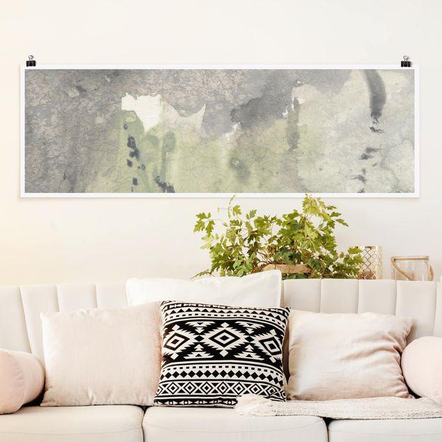 Poster - Frieden, Liebe, Freude III - Panorama Querformat