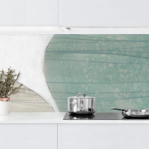 Küchenrückwand - Jadesteine II