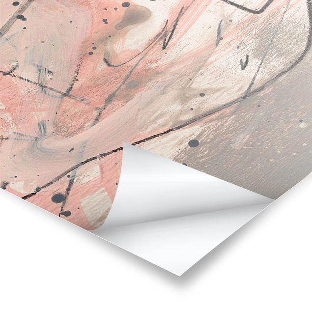 Poster - Erröten I - Panorama Querformat