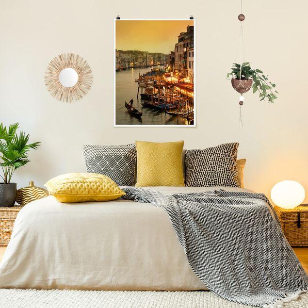Poster - Großer Kanal von Venedig - Hochformat 3:4