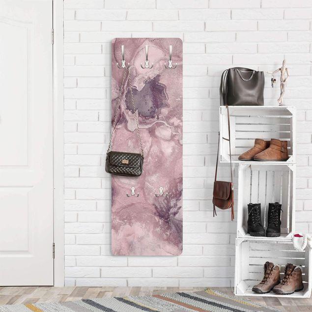 Garderobe - Farbexperimente Marmor Violett