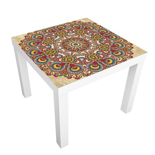 Beistelltisch - Farbiges Mandala