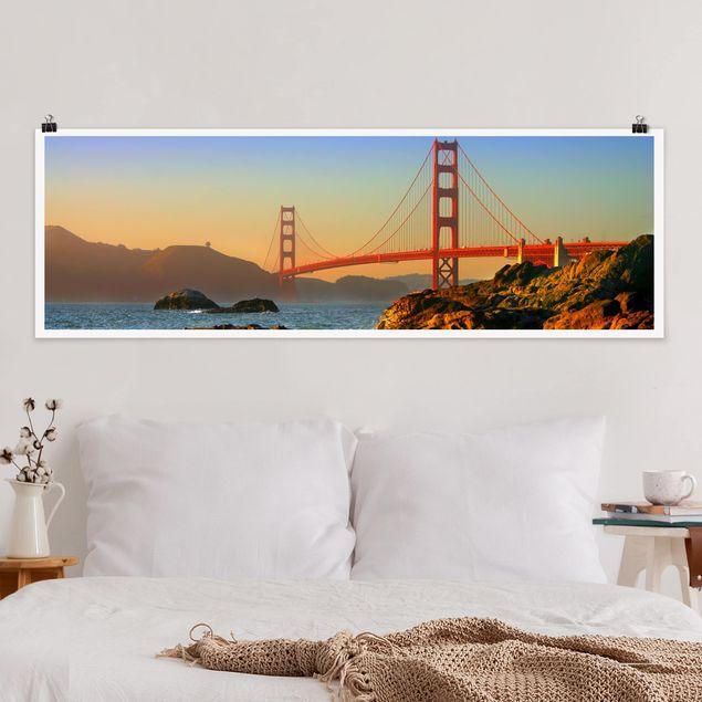 Poster - Baker Beach - Panorama Querformat