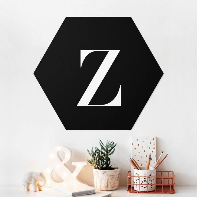 Hexagon Bild Forex - Buchstabe Serif Schwarz Z