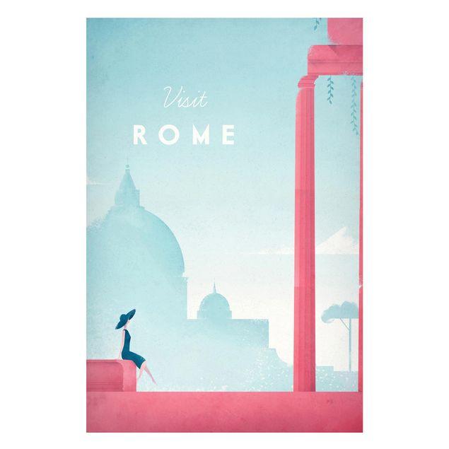 Magnettafel - Reiseposter - Rom - Memoboard Hochformat 3:2
