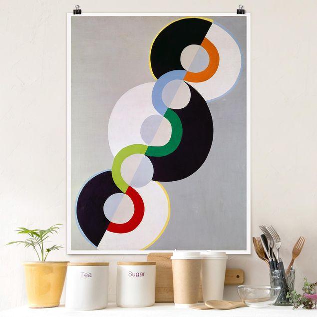 Poster - Robert Delaunay - Endloser Rhythmus - Hochformat 3:4