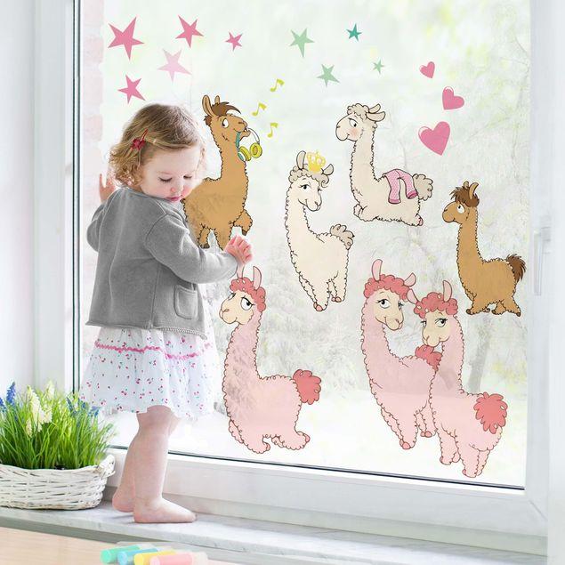 Fensterfolie Fenstersticker - Nici - Lama Set