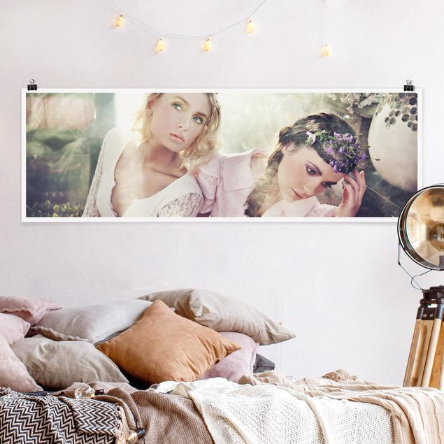 Poster - Spring Nymphs - Panorama Querformat